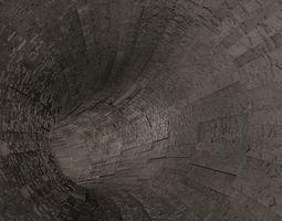 3d sci-fi tunnel
