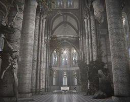 3D model Old Gothic Castle
