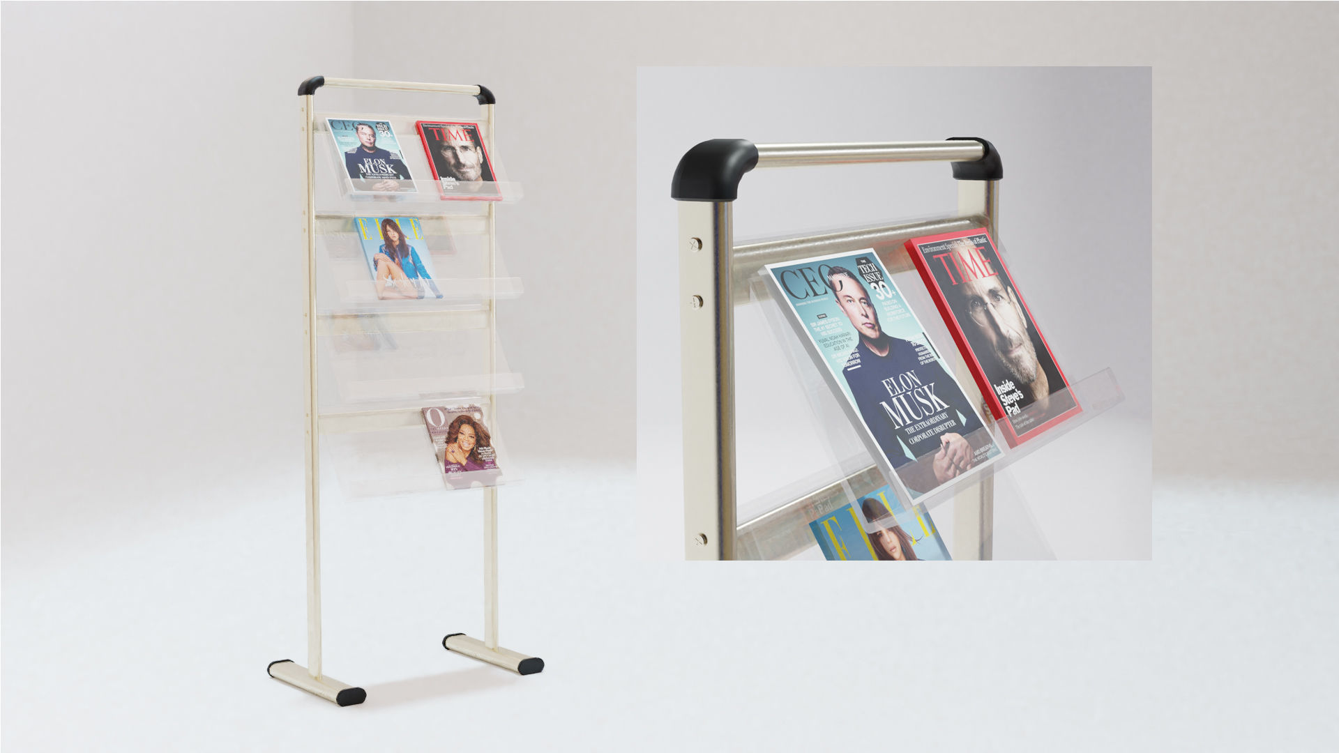 A4 Handout Flyer Magazine Brochure stand holder