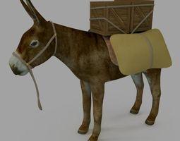 donkey1 3D asset