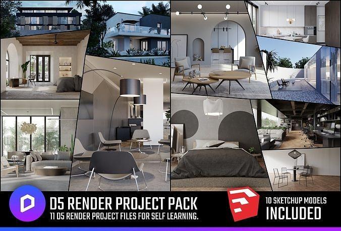 D5 Render Project Pack
