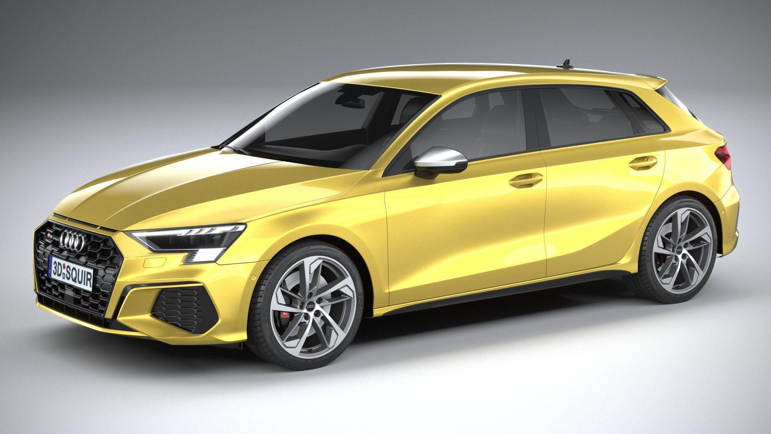 Audi S3 2021 3D model | CGTrader