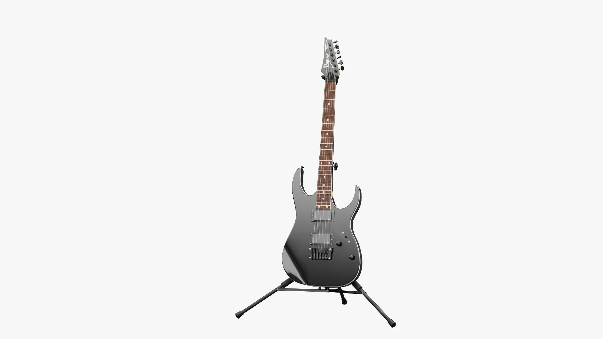 3d model guitar ibanez rgr321ex cgtrader