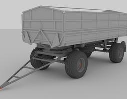 Tatra BSS trailer 3D model