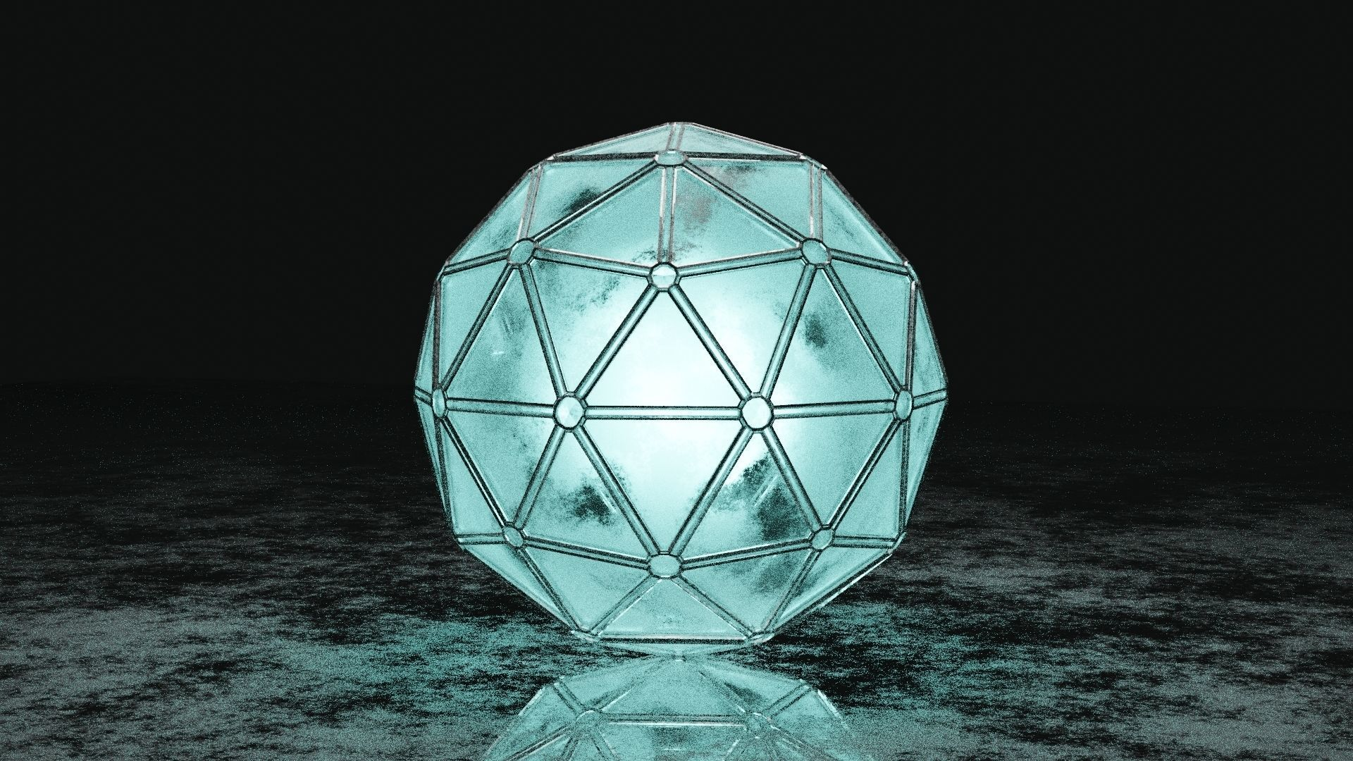 THE ORB 3D model low-poly  CGTrader