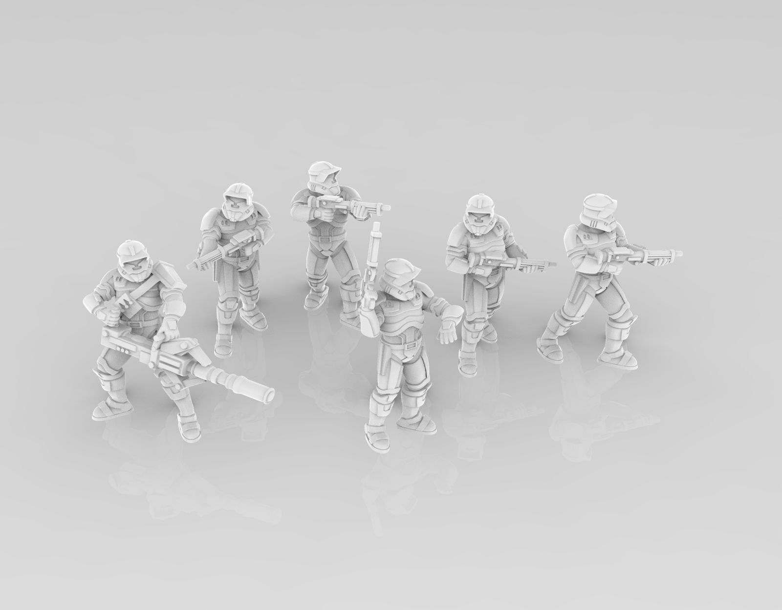 Light Havok Troopers