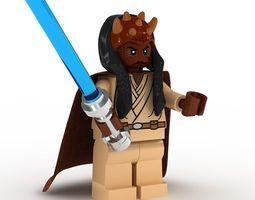LEGO Minfigure Agen Kolar 3D Model