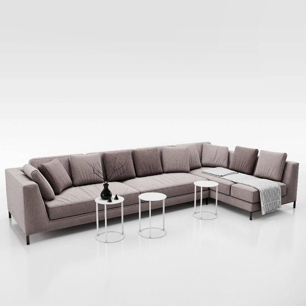 Sofa B and B ITALIA RAY 3D model