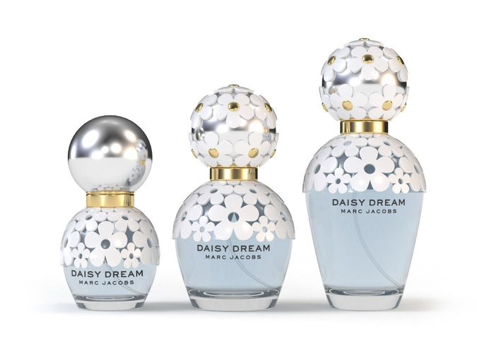 perfume daisy dream 3d model max obj mtl fbx stl 1