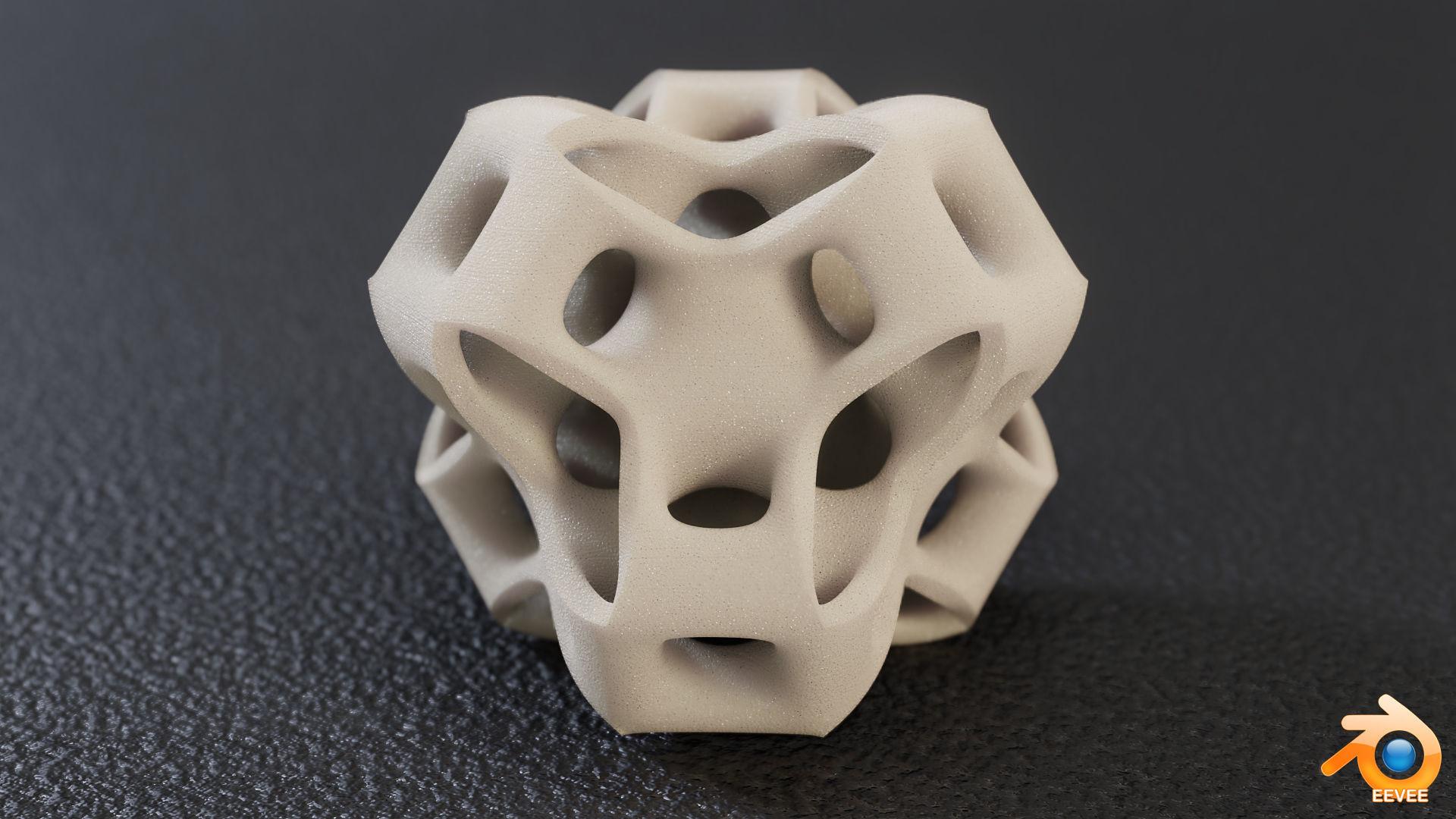Cubic Gyroid Sculpture