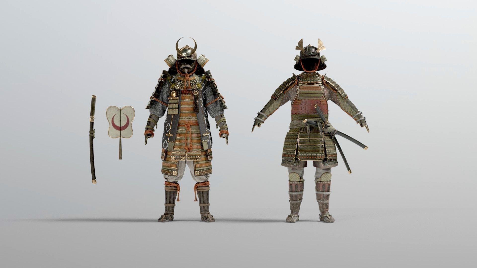 MEDIEVAL japanese Samurai