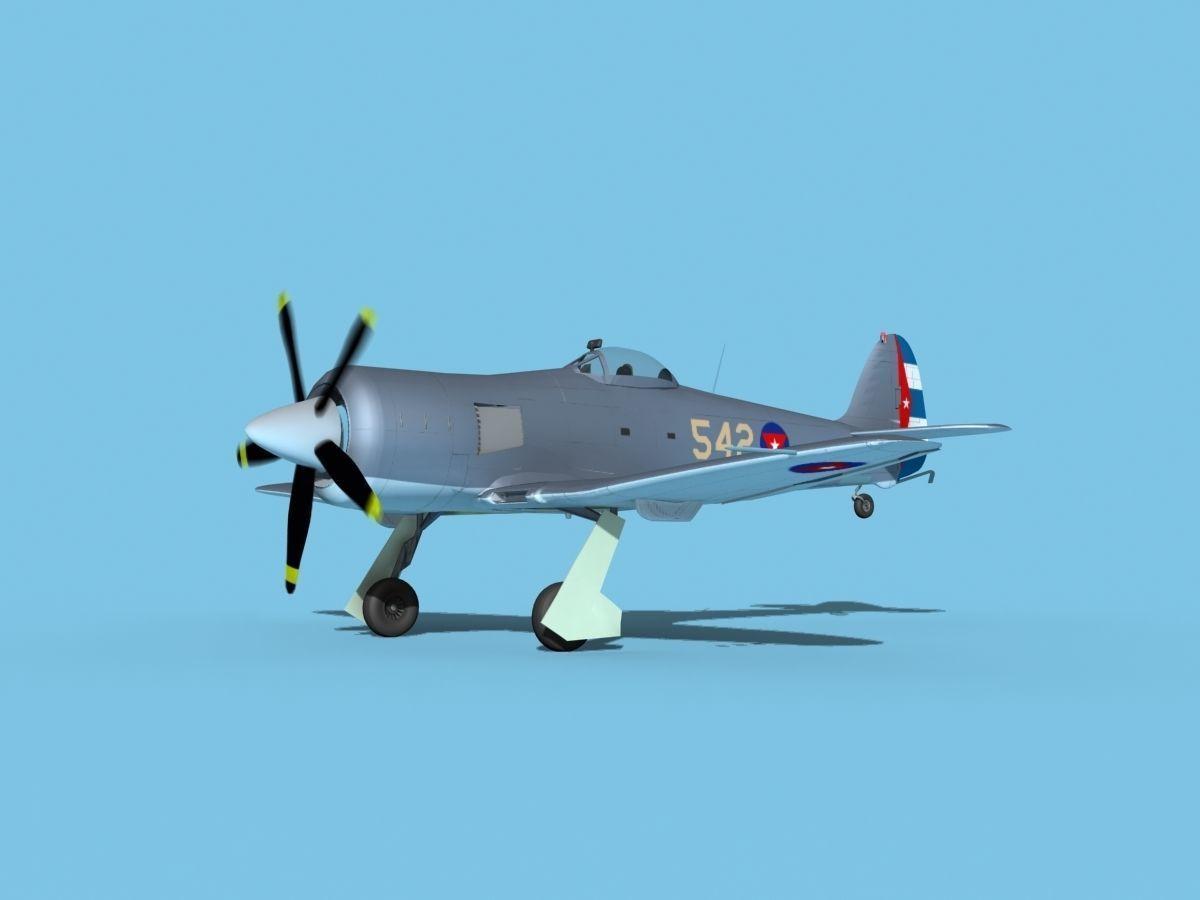 Hawker Sea Fury V16 AFC