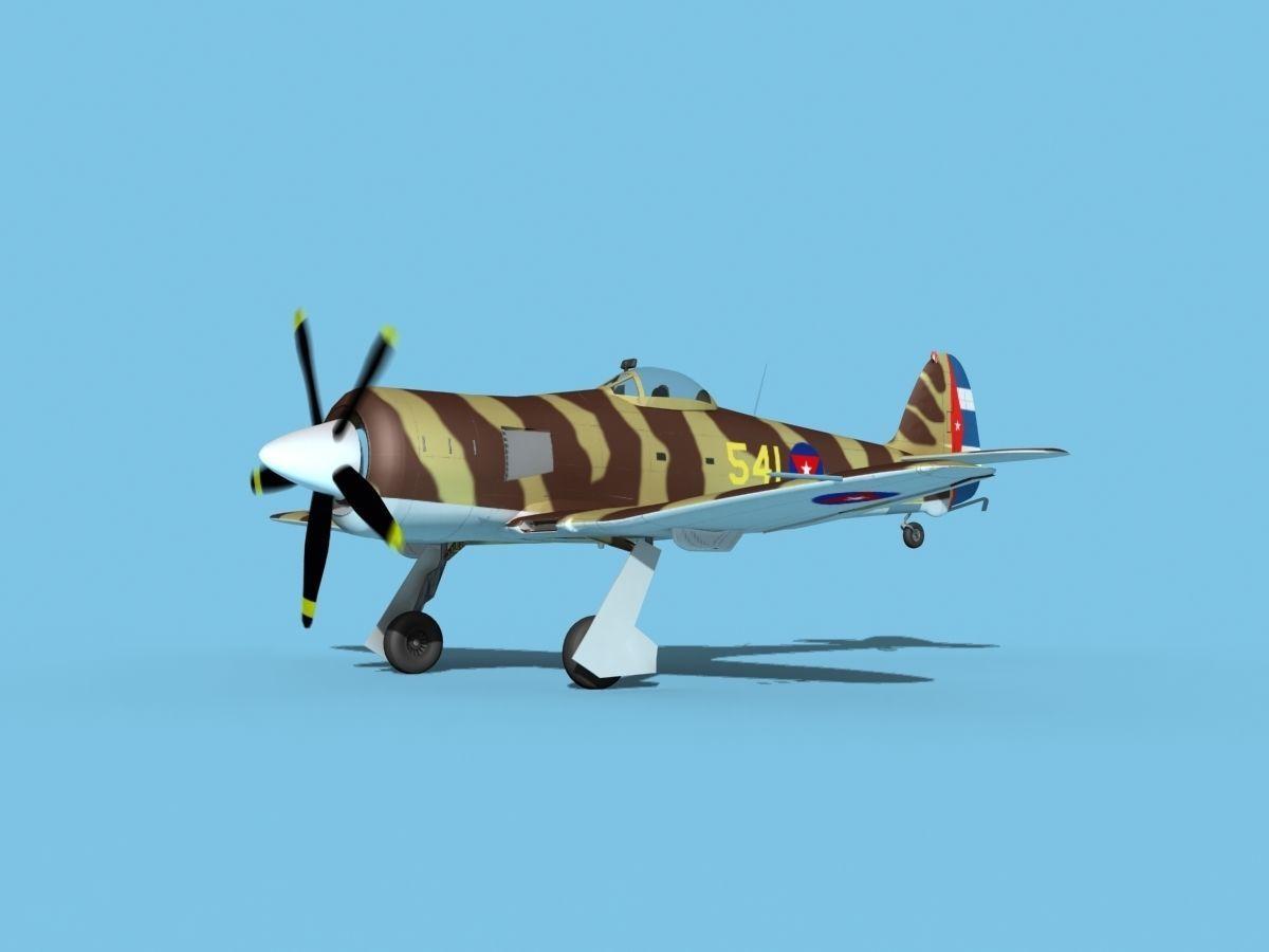 Hawker Sea Fury V17 AFC