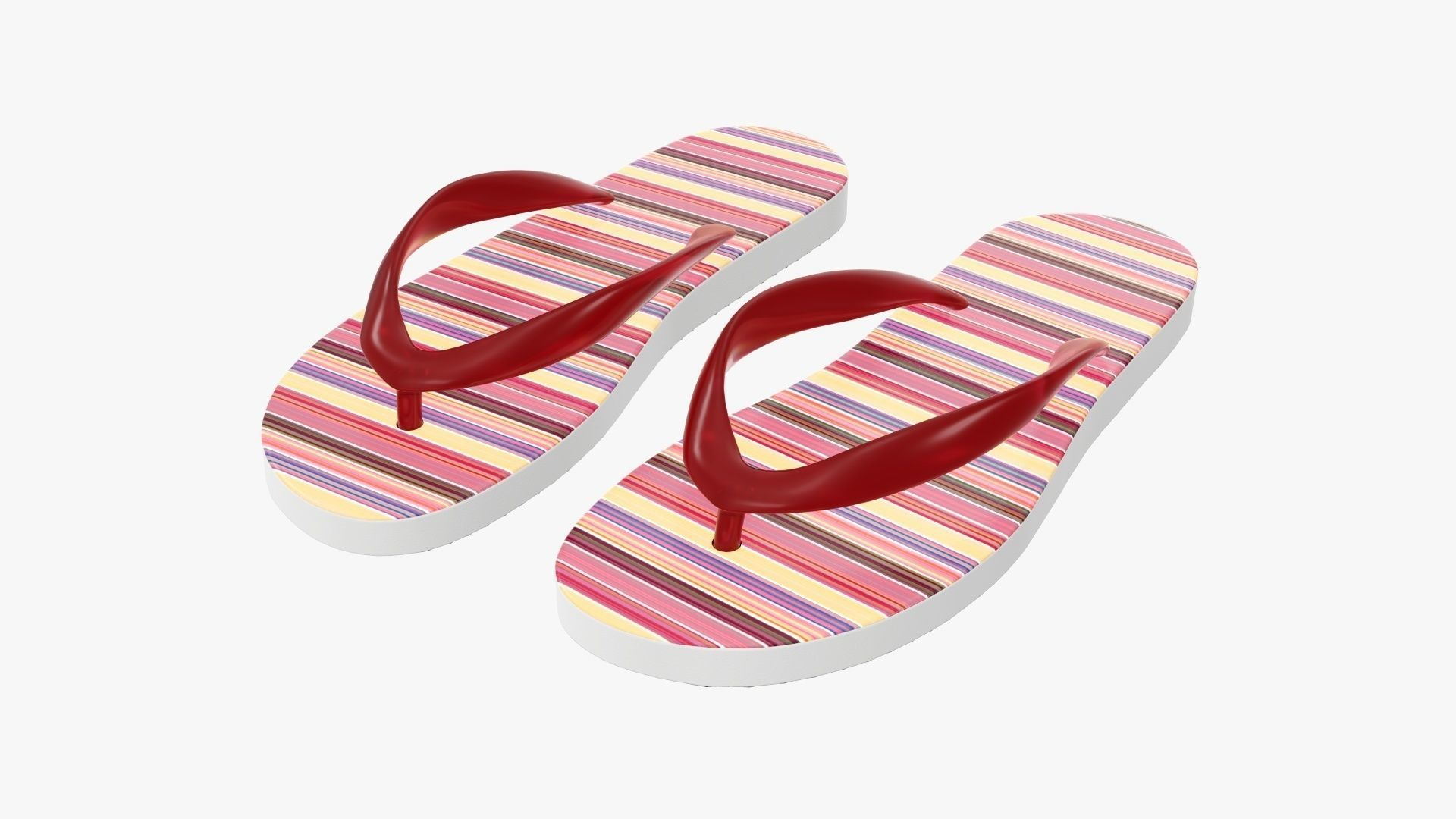 Flip-flops woman summer beach footwear 02