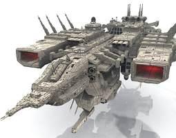 3D model CDF Goliath Dreadnought
