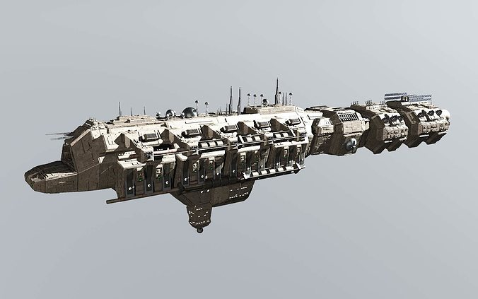 3d Model Cdf Carrier Cgtrader