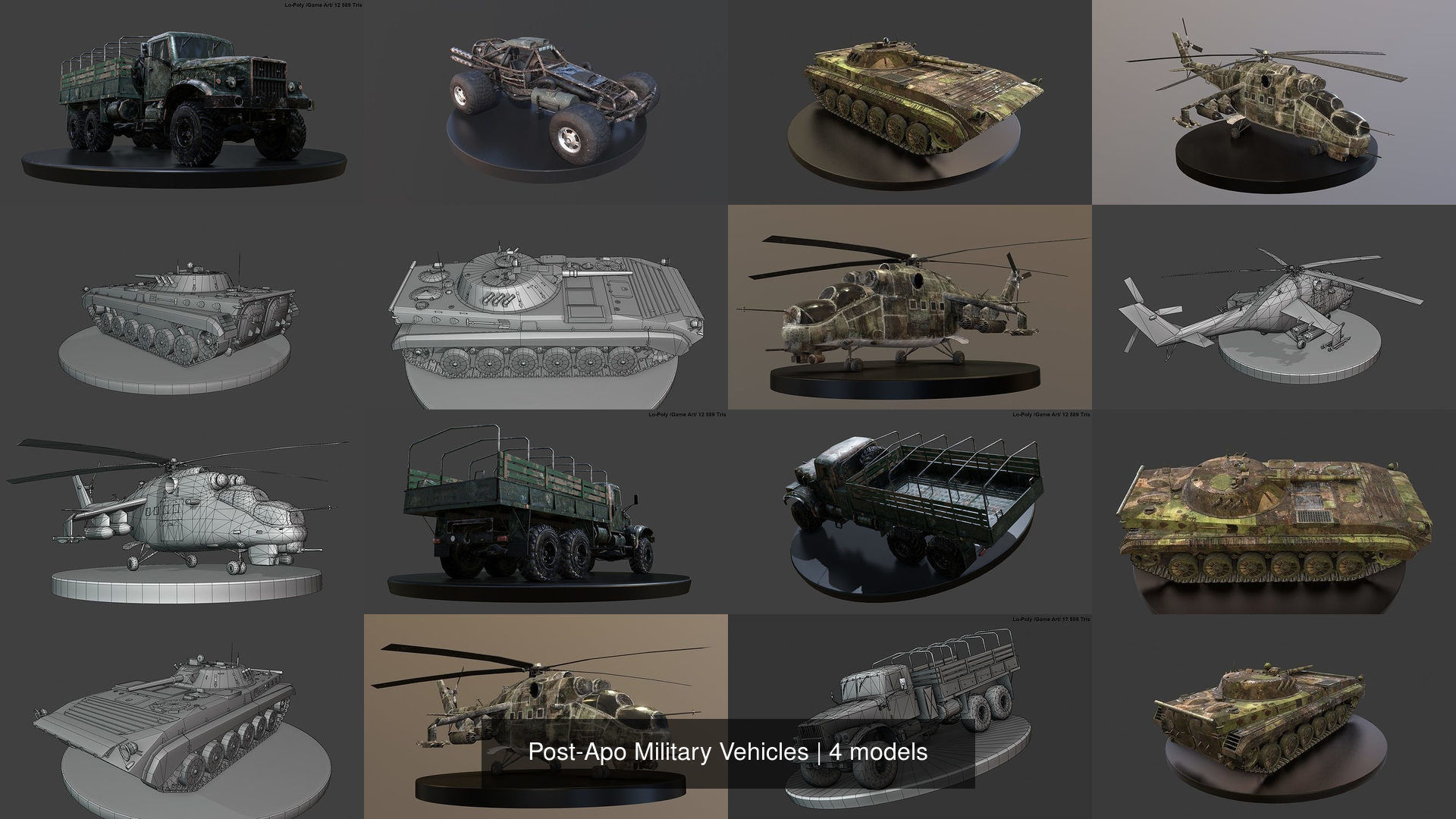 Post-Apo Military Vehicles