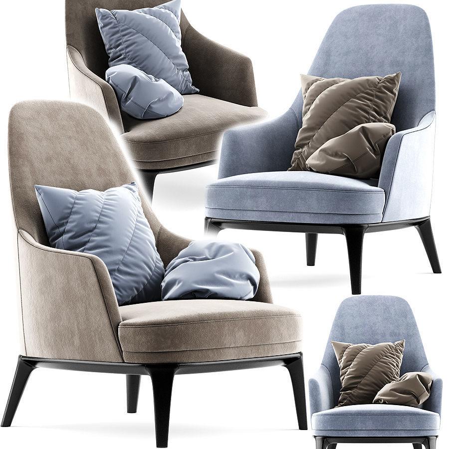 Poliform Jane Lounge Armchair Heigh