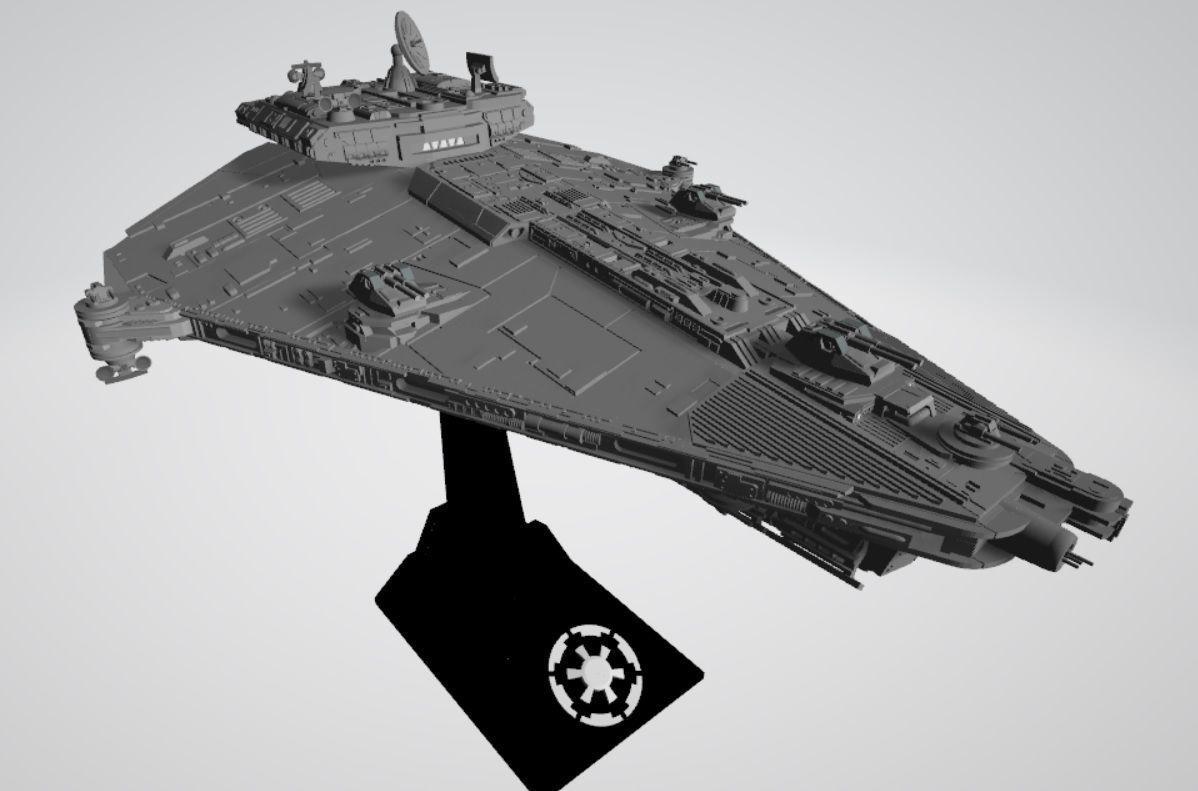 Star Wars Vigil-class imperial corvette