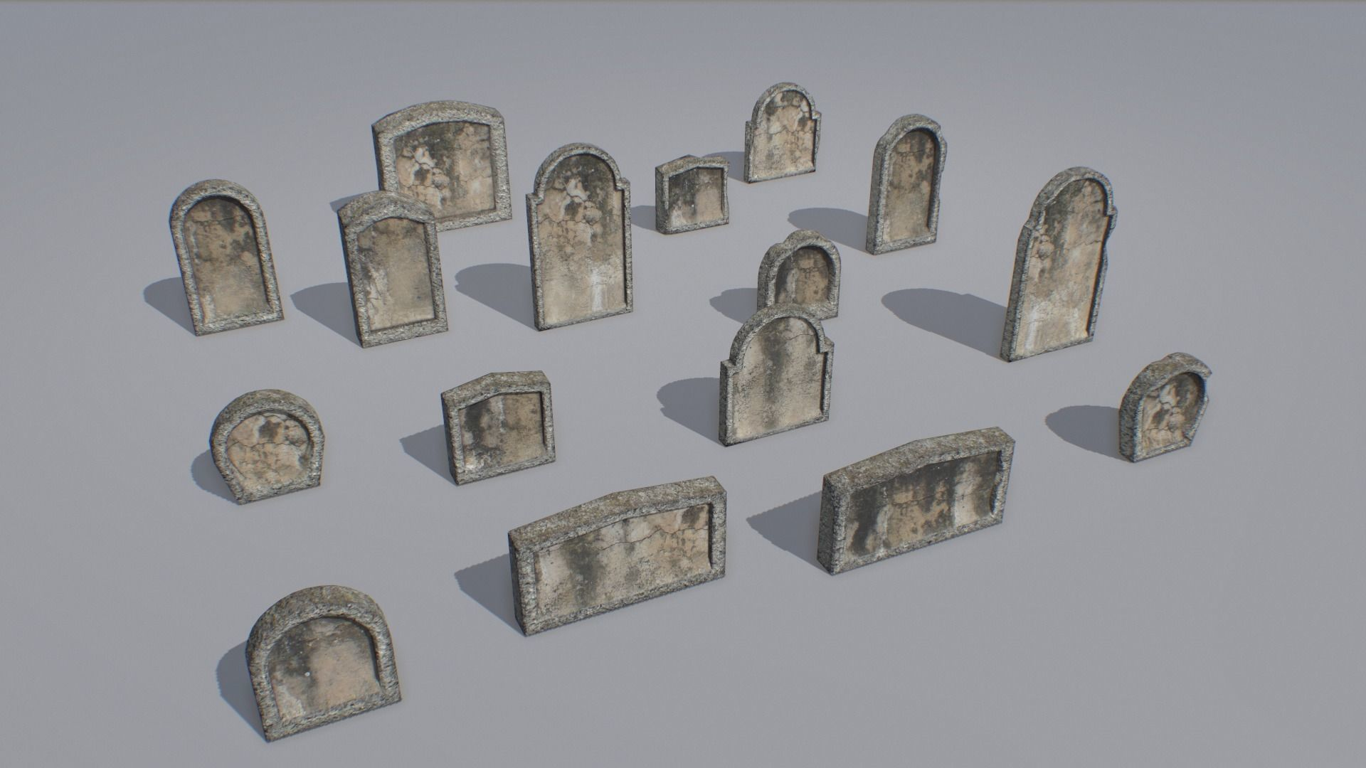 Gravestones pack 4