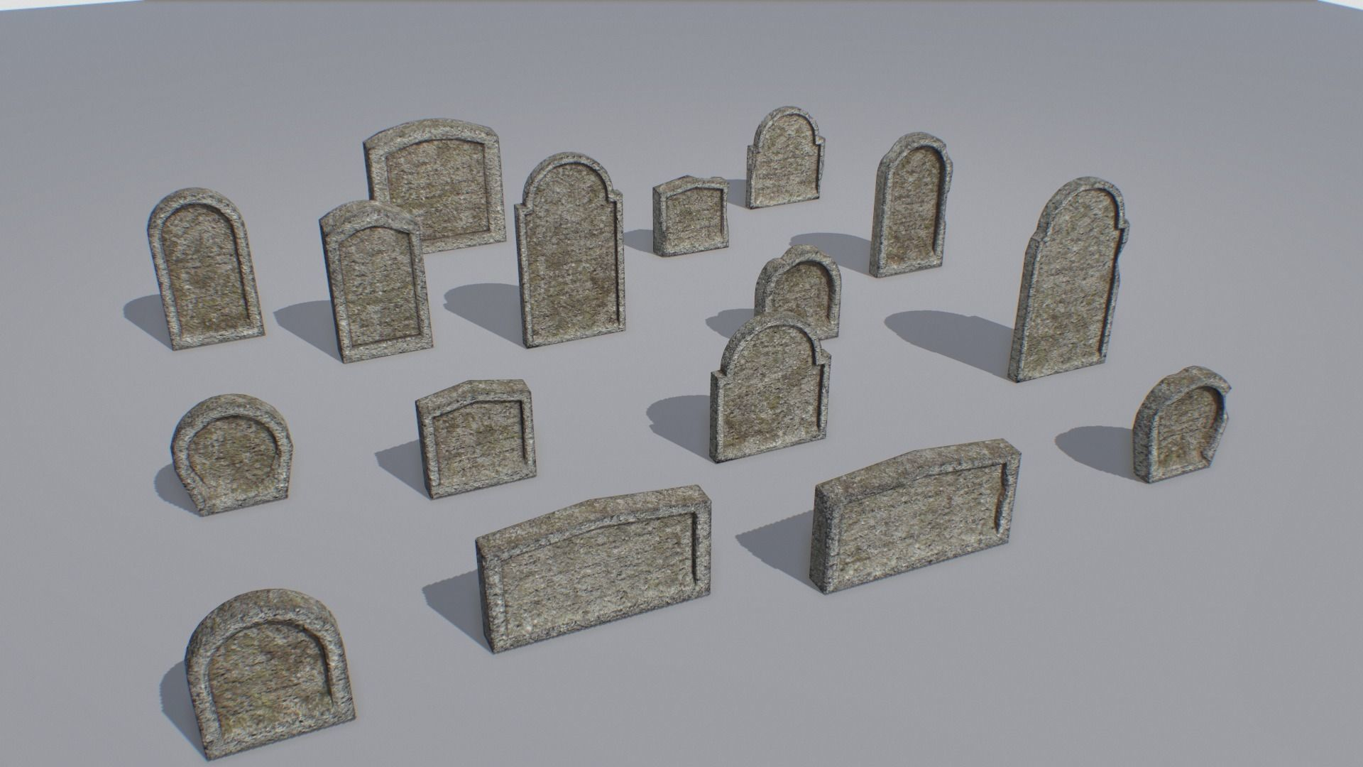 Gravestones pack 8