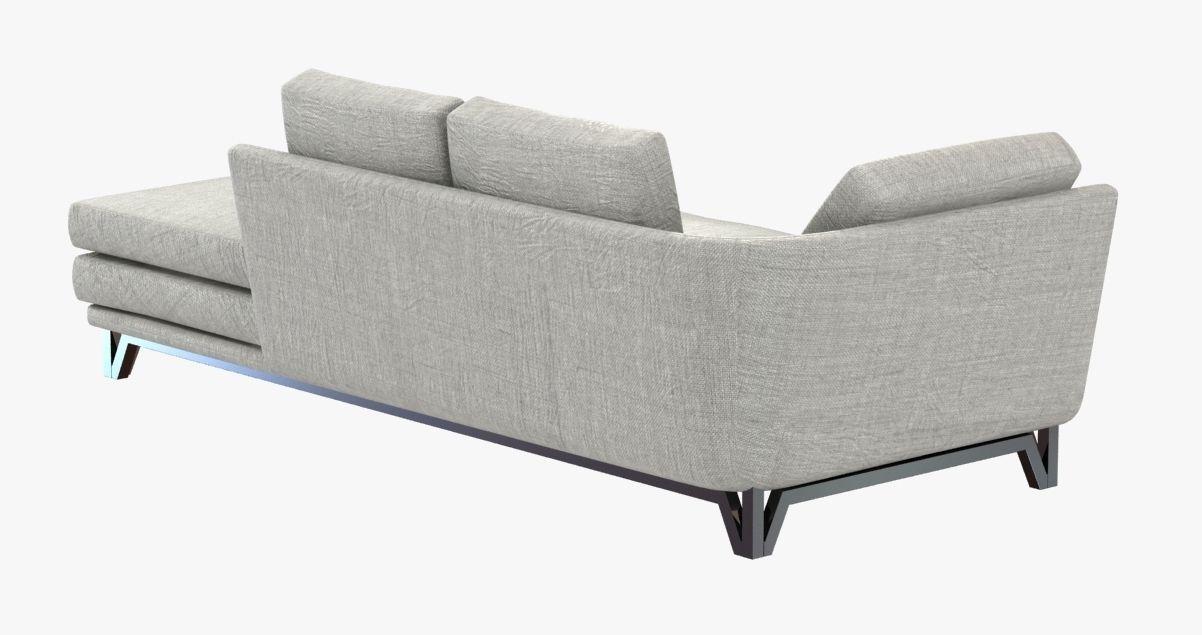 Roche Bobois littoral sofa 3D model   CGTrader