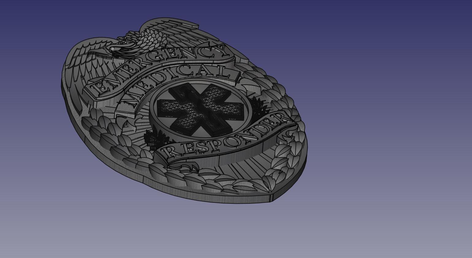 Eagle Badge EMR Badge