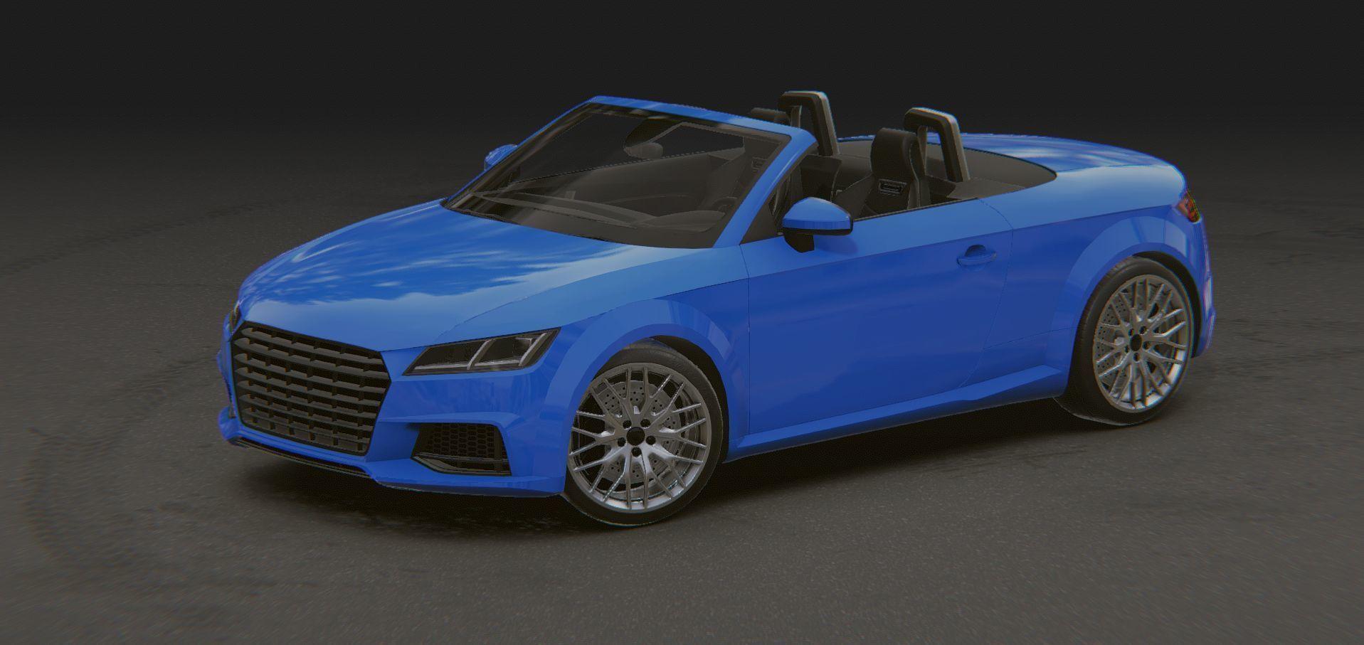 Realistic Mobile Car 14 Audi TT Roadster