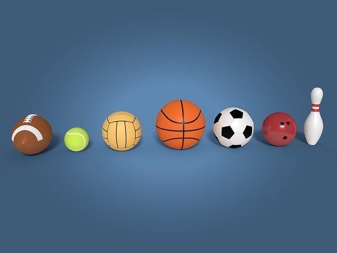 Cartoon Balls