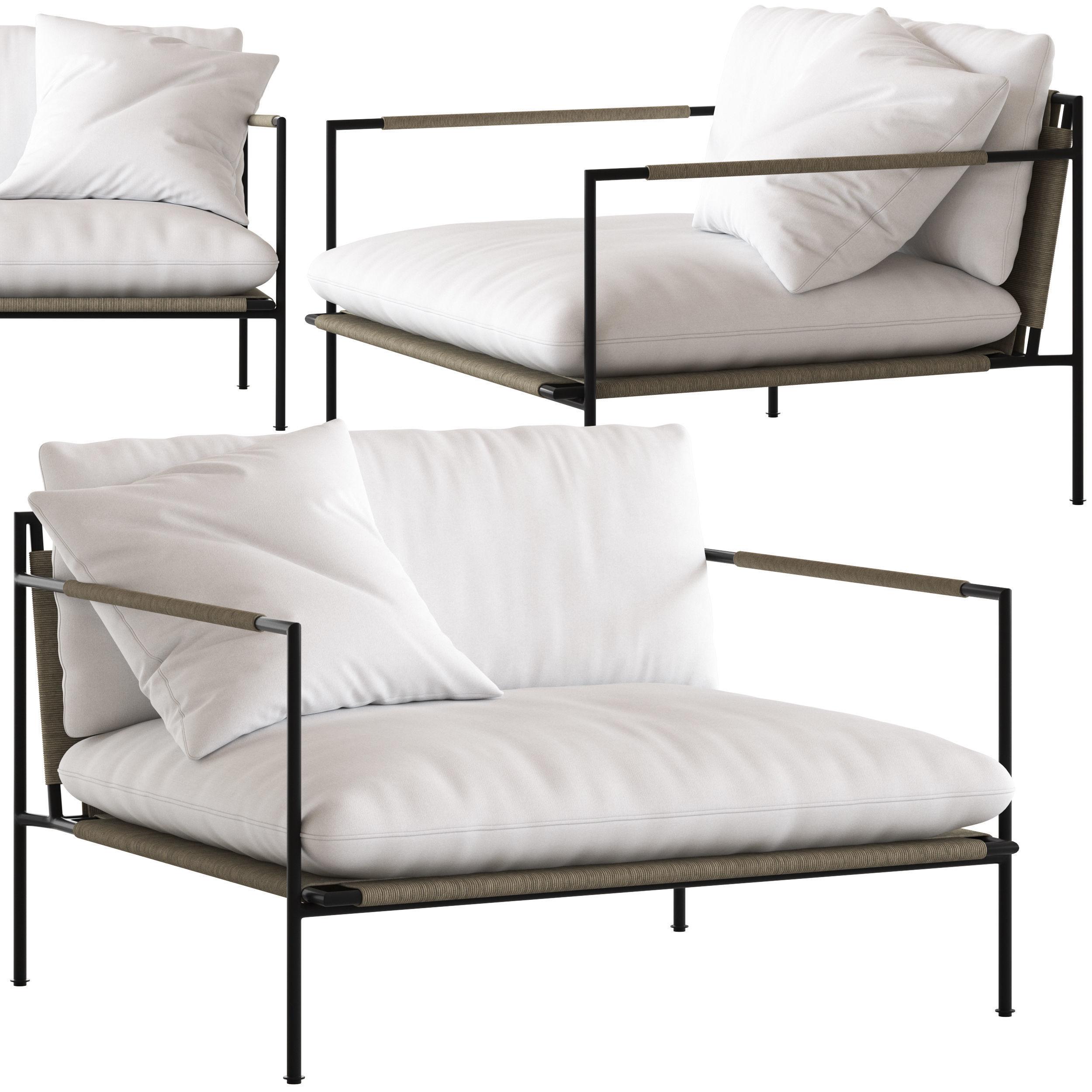 Coco Republic Malmo Outdoor Lounge Chair