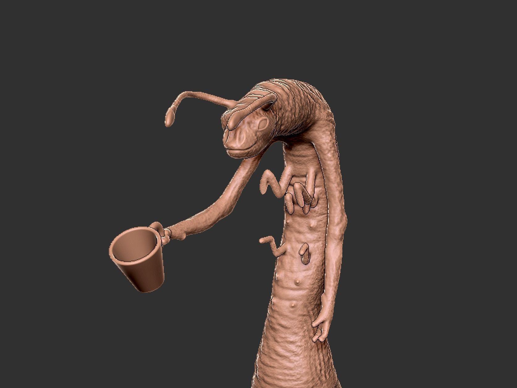 MIB Worm Guy