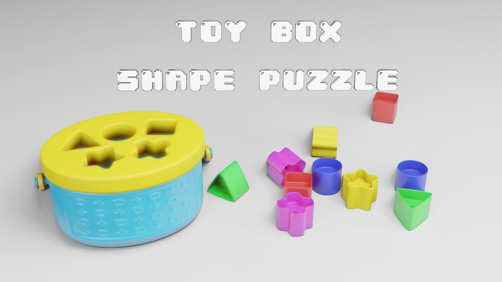 Toy Box - Shape Puzzle - Playset for Babies