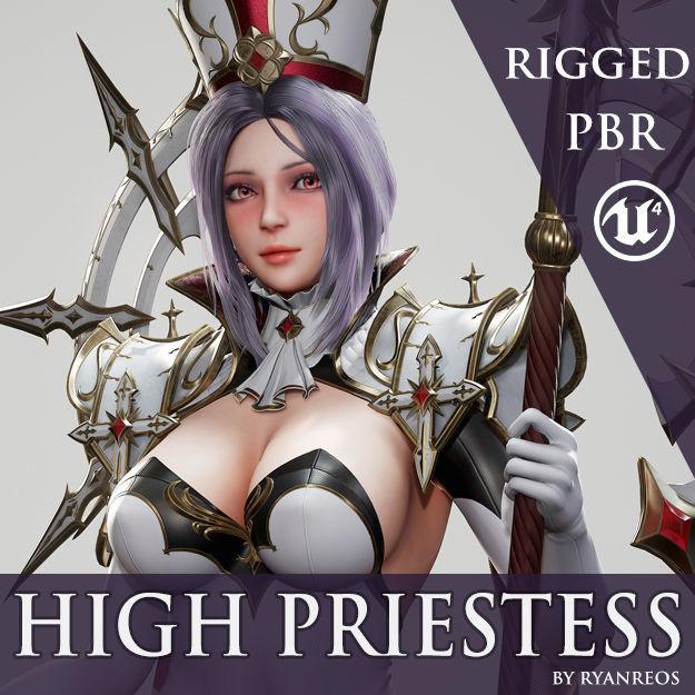 High Priestess - Game Ready