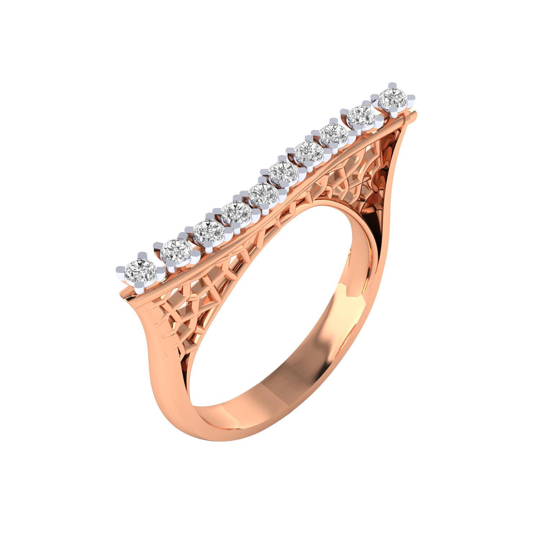 Women ring 3dm render detail 3D print model