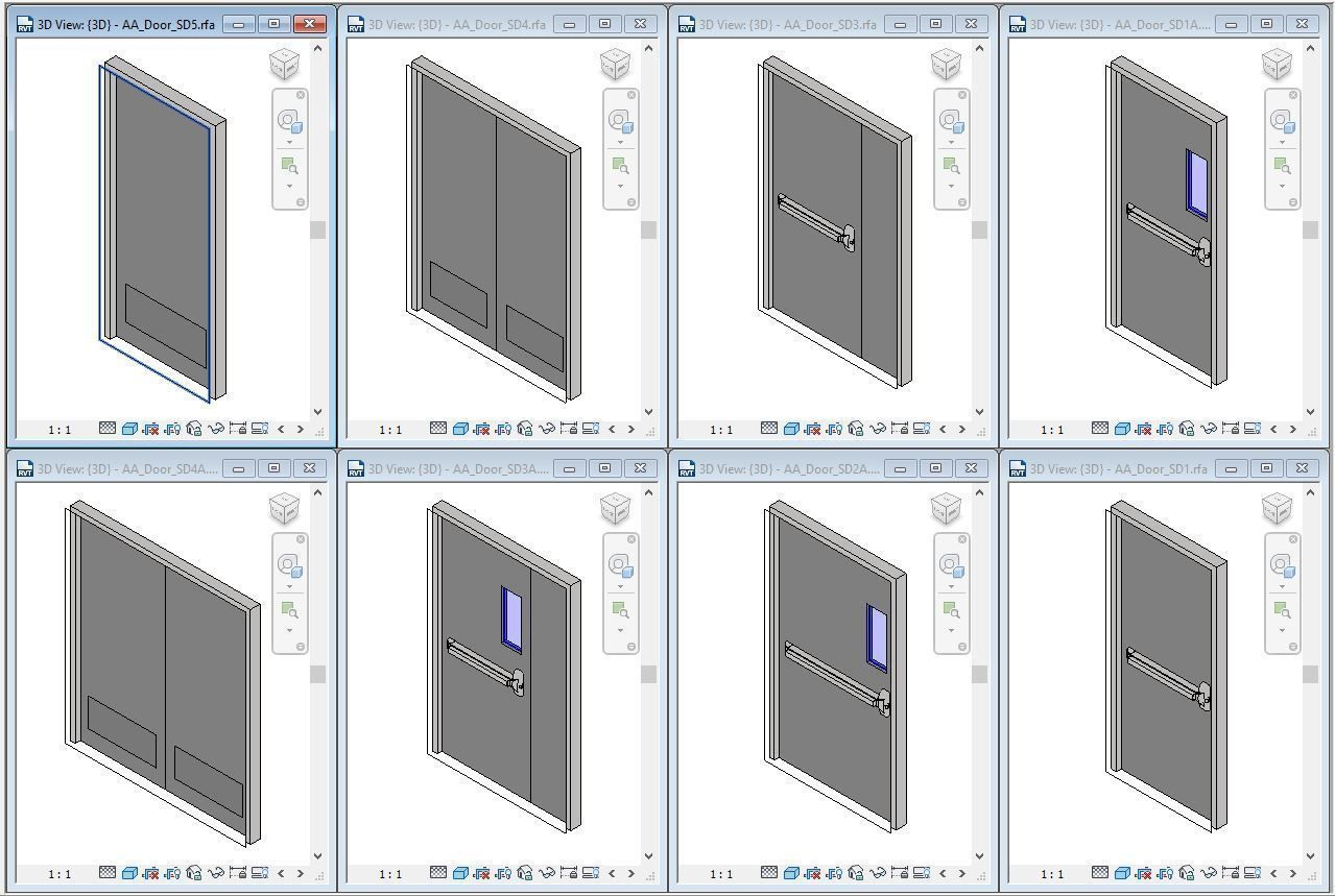Basic Steel Door
