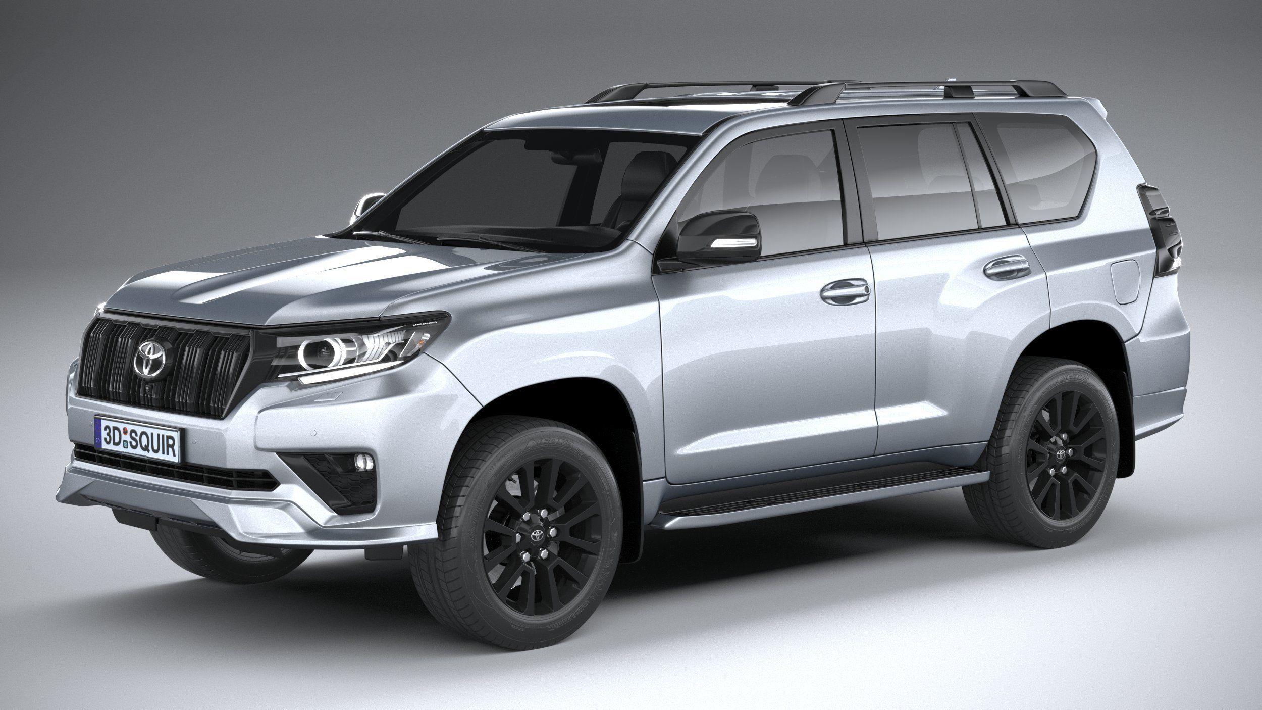 Toyota Land Crusier Prado 2021 3D | CGTrader