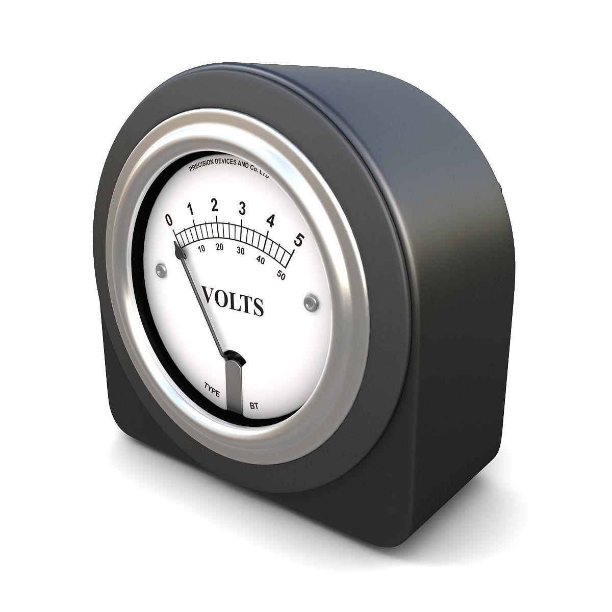 Analog DC Voltmeter 03