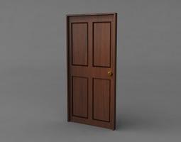Simple Classic Door 3D