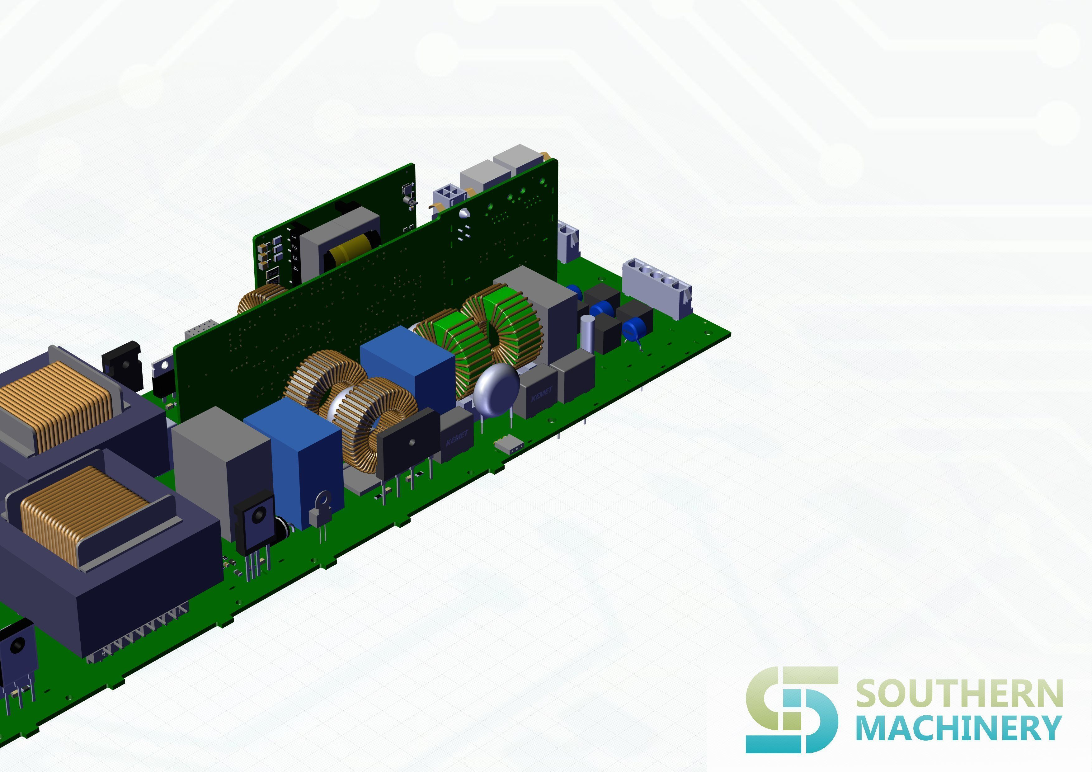 LED lighting driver PCB assembly machine manufacturing