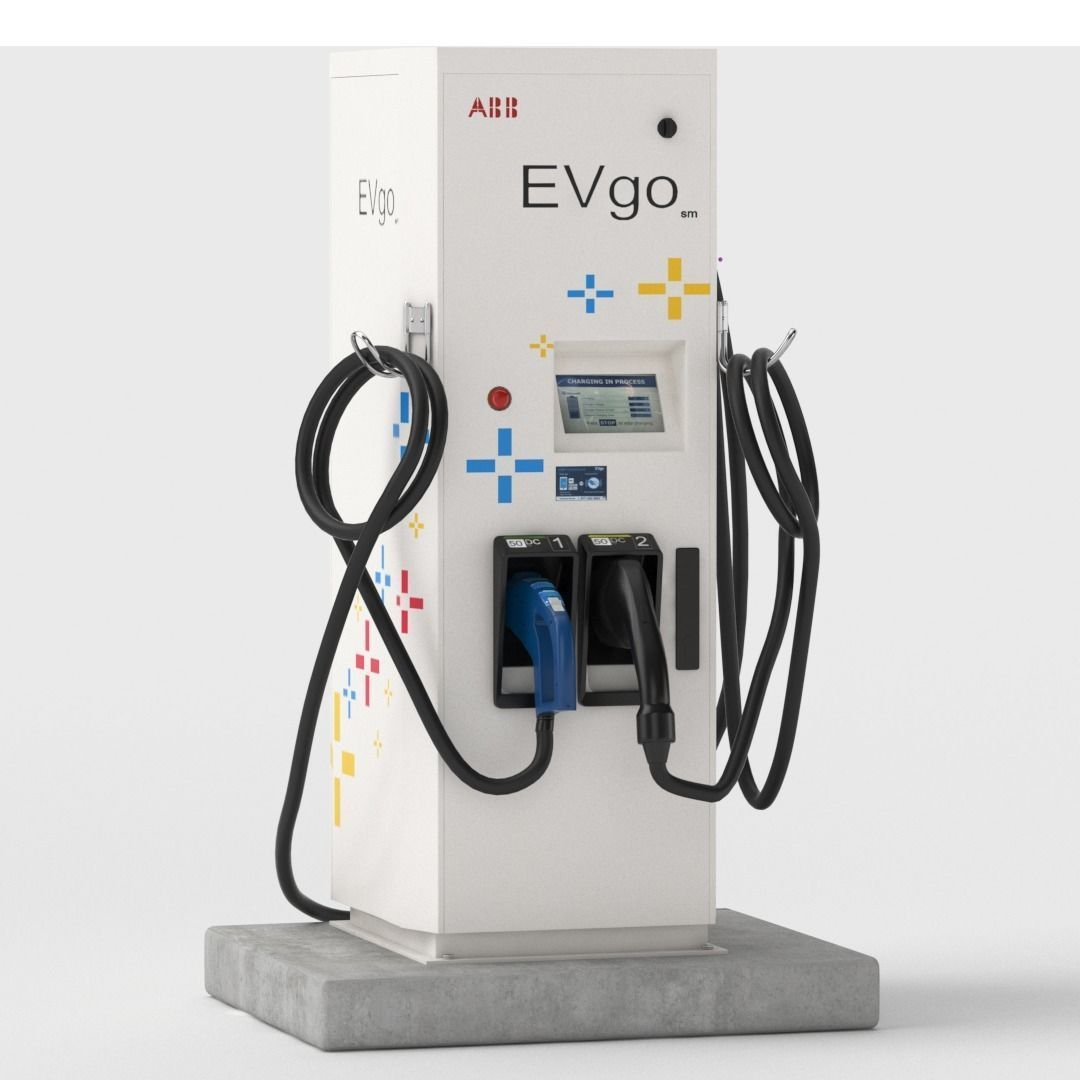 Electric Vehicle Charging Station EV GO Pat 1