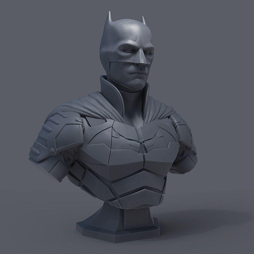 BATMAN BUST - ROBERT PATTINSON