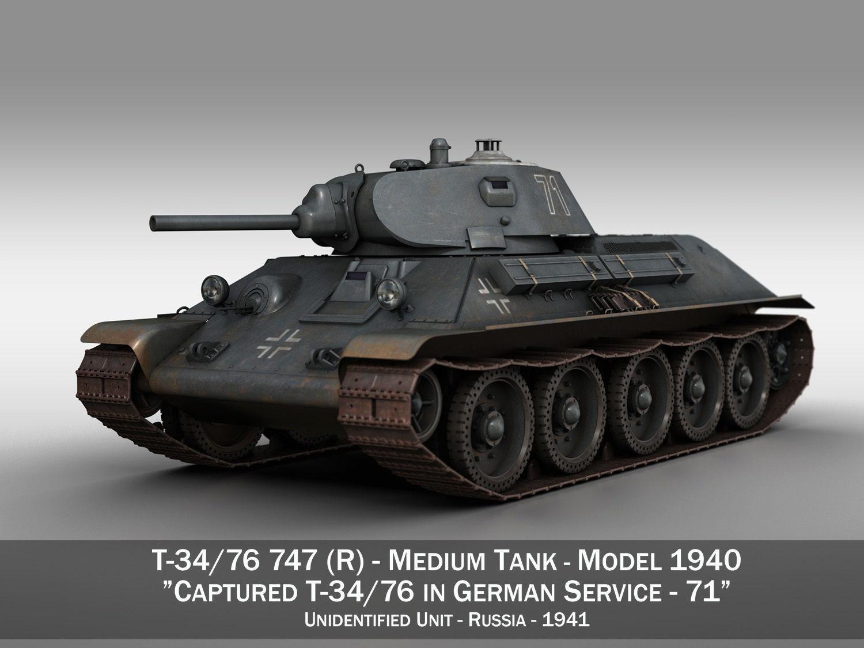 T-34-76 - Model 1940 -Soviet medium tank - 71
