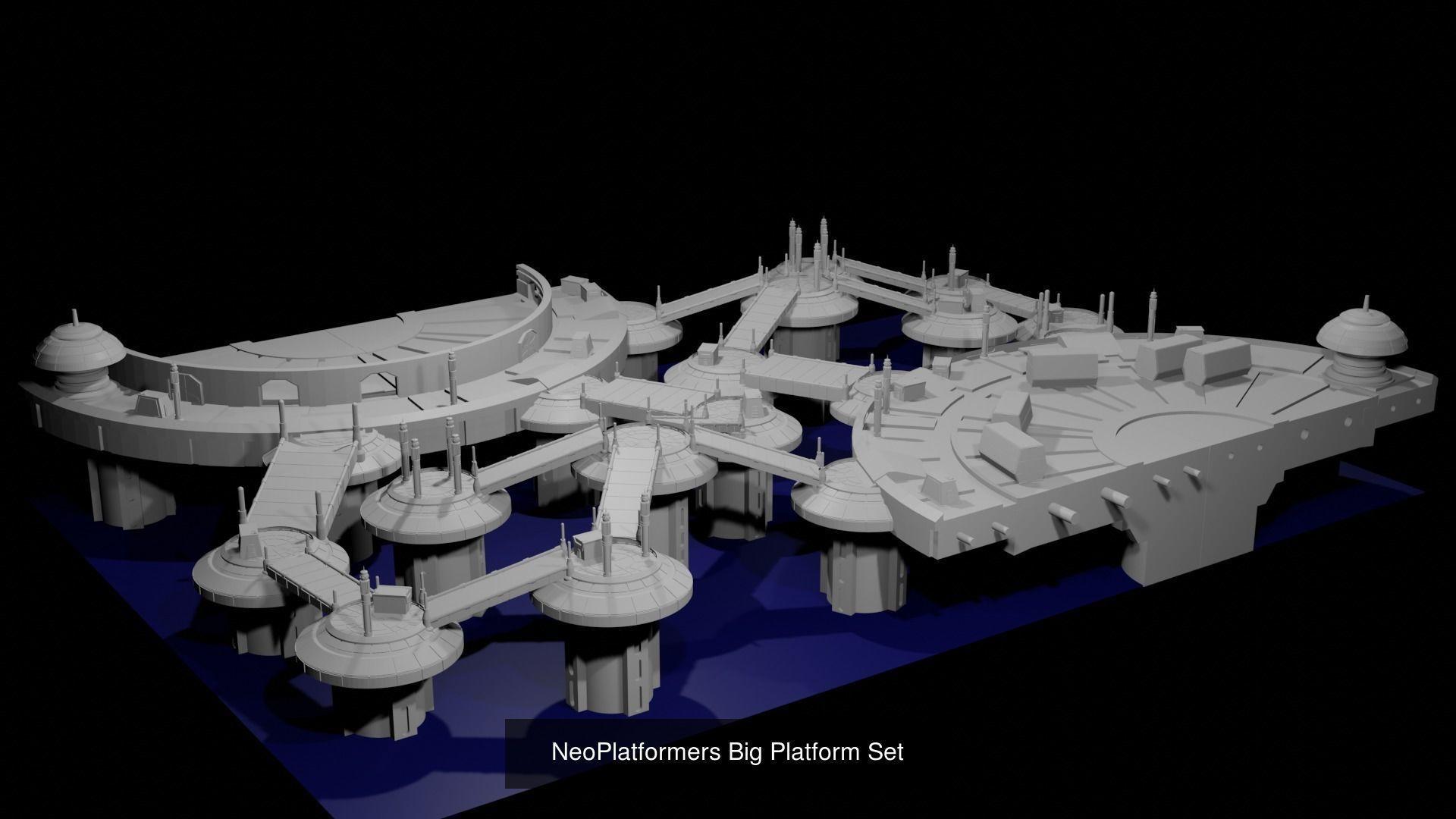 Full NeoPlatformers Terrain Set