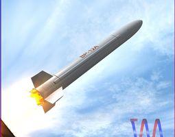 3D model BP-12A Missile