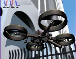 UAV Interceptor 3D Model