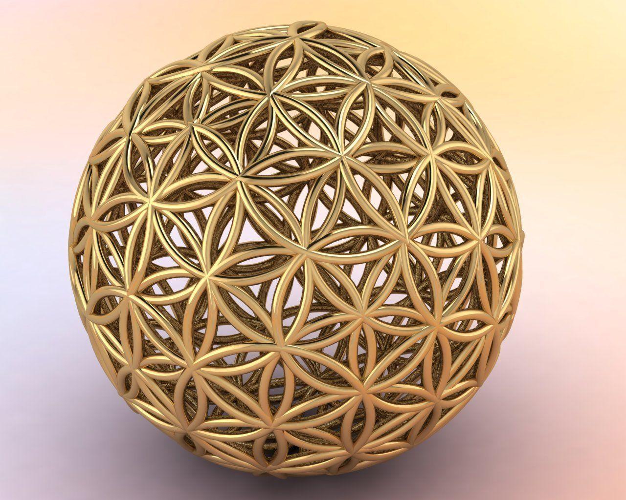 Flower of Life  18mm sphere
