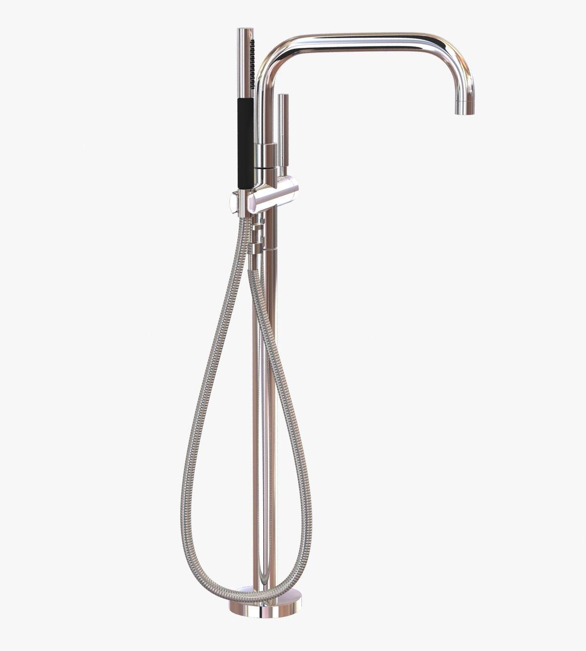 Kohler Purist Freestanding Bath Filler 3d Model