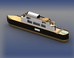 3D asset Yacht 1 updated model coming soon