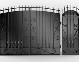 3D gate and gate