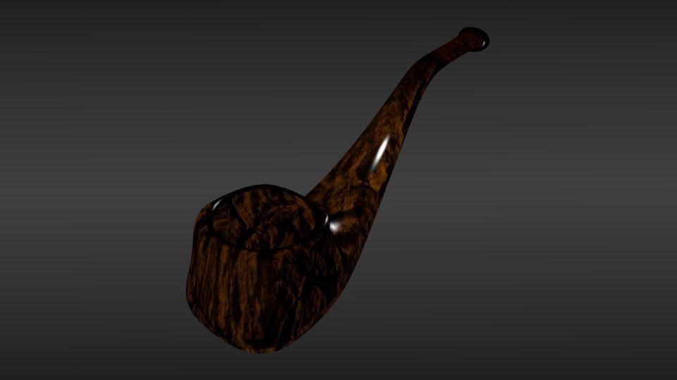 Tobacco Smoking Pipe | 3D model